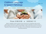 View More Information on Childhood Language And Speech Pathology