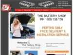 View More Information on The Battery Shop