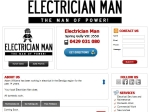 View More Information on Electrician Man