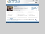 View More Information on Spectrum Financial Services
