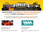 View More Information on Secondhand Forklifts Sales & Service