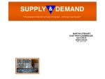 View More Information on Supply & Demand