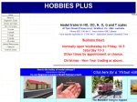 View More Information on Hobbies Plus