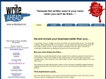 View More Information on Write Ahead Copywriting Services