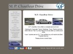View More Information on M.P. Chauffeur Drive