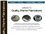 View More Information on Quality Marine Fabrications