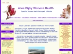 View More Information on Anne Digby Womens Health