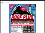 View More Information on Roof Plus