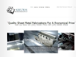 View More Information on Ausform Sheet Metal Solutions Pty Ltd