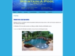 View More Information on Maintain-A-Pool