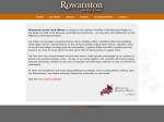 View More Information on Rowanston On The Track