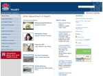 View More Information on Department Of Health Of New South Wales Government