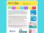 View More Information on Hire for Baby, City Beach