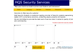 View More Information on MQS Security