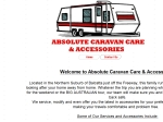 View More Information on Absolute Caravan Care And Accessories