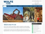 View More Information on Wolfe Construction Company Pty Ltd