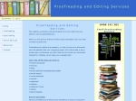 View More Information on Proofreading And Editing Services