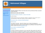 View More Information on Village Retirement
