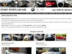 View More Information on Sydney Sports Car Hire