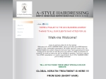 View More Information on A Style Hairdressing