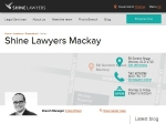 View More Information on Shine Lawyers, Mackay