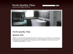 View More Information on Perth Quality Tiles