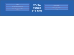 View More Information on Vorta Power Systems Pty Ltd