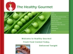 View More Information on The Healthy Gourmet