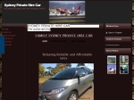 View More Information on Family Sydney Private Hire Car