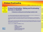 View More Information on Protean Proofreading