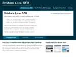 View More Information on Brisbane Local Seo