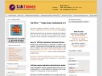 View More Information on Tab Timer