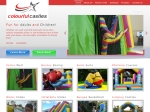 View More Information on Colourful Castles Jumping Castles