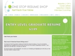 View More Information on One Stop Resume Shop