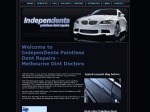 View More Information on Independents Paintless Dent Repairs