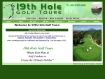 View More Information on 19Th Hole Golf Tours