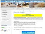 View More Information on Aardvark Carpet Cleaning & Upholstery Services