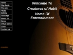 View More Information on Creatures Of Habit