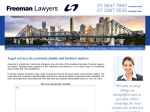View More Information on Freeman Lawyers Coorparoo