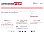 View More Information on Central Plaza Doctors