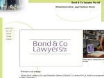 View More Information on Bond & Co Lawyers Pty Ltd