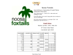 View More Information on Noosa Foxtails