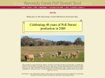 View More Information on Kennedy Creek Poll Dorset Stud