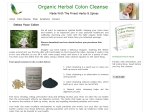View More Information on Organic Herbal Colon Cleanse