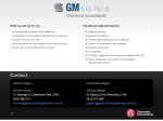 View More Information on GM & Co. Pty Ltd Chartered Accountants