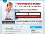 View More Information on Transcription Services