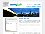 View More Information on Surveytech - Traffic Surveys