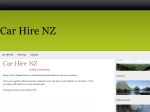 View More Information on Car Hire Nz Net