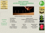 View More Information on Ballantyne Acupuncture & Remedial Massage