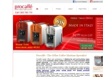 View More Information on Procaffe Office Coffee Machines